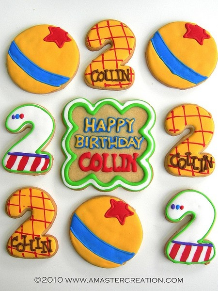 Toy Story cookies!