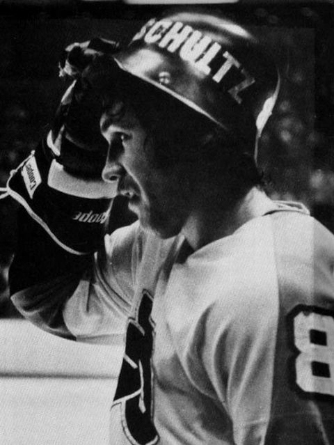 "Dave ""The Hammer"" Schultz - The Broad Street Bullies (Philadelphia Flyers 1972–1977) legendary"