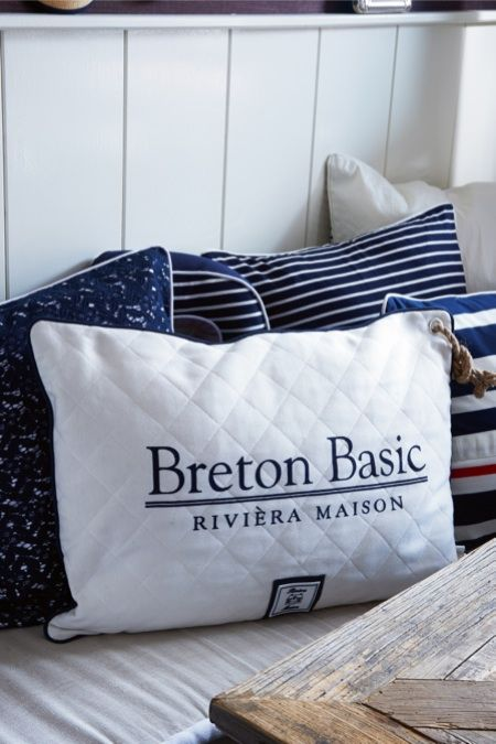 Breton Basic Rope Pillow 65x45 €39,95