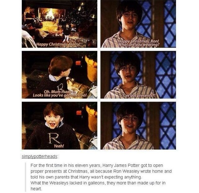 This is why the Weasley's are the best people ever