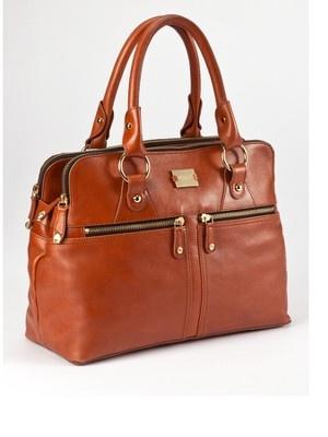 Modalu Pippa Leather Grab Bag.