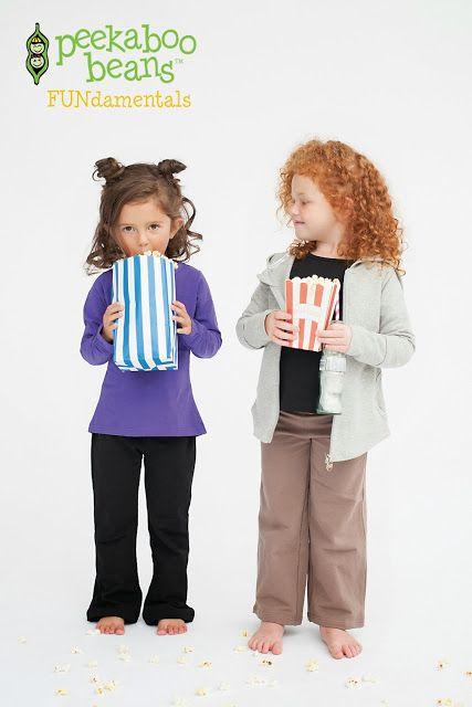 Peekaboo Beans FUNdamentals - Playwear for kids on the grow.