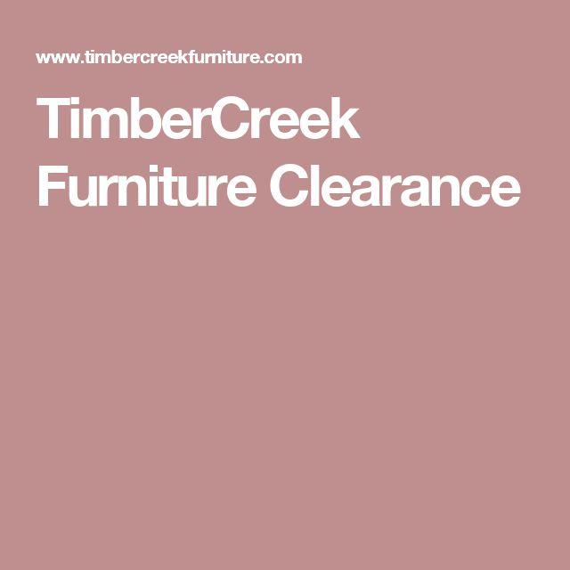 TimberCreek Furniture Clearance