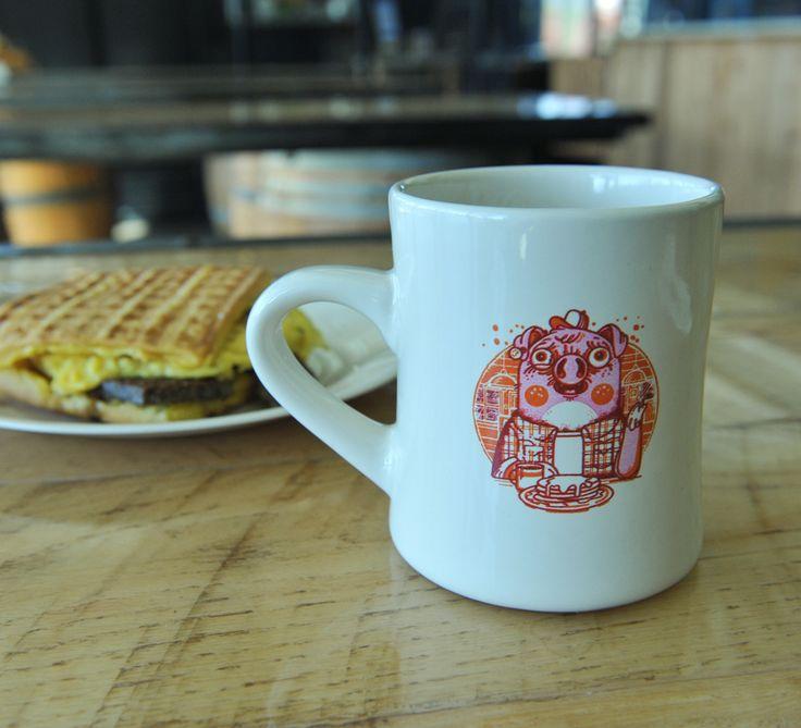 Beer for Breakfast Diner Mug