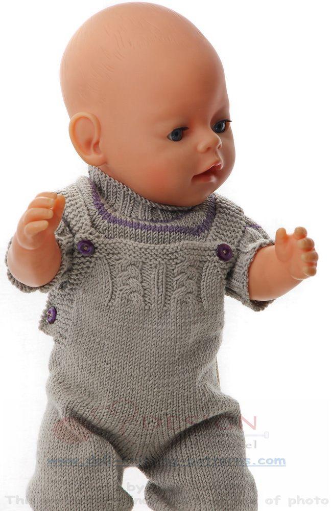 Puppensachen Stricken Anleitung Handarbeiten Stricken Puppen
