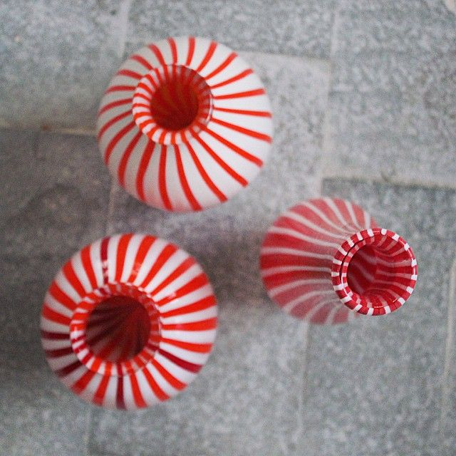 #Candy #Vintage! #vases #homedecor #red #white #redandwhite #photography #love #design #art #perspective #instapic #picoftheday