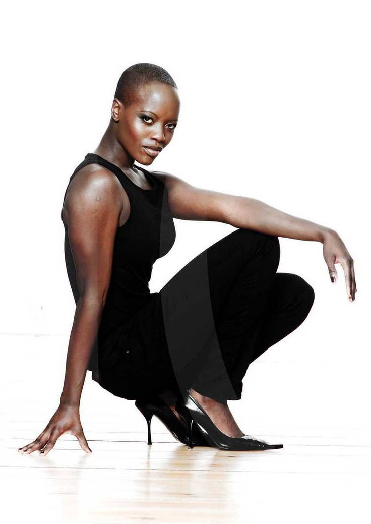 German - Ugandan actress Florence Kasumba