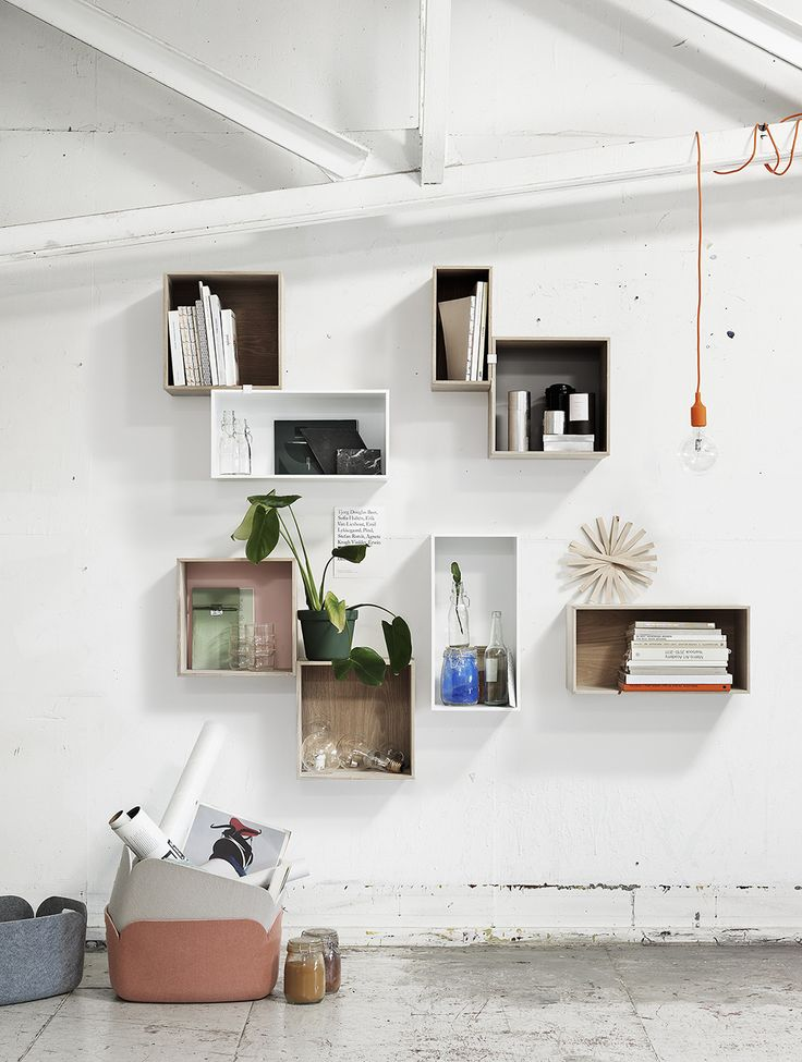 Muuto - Designs - Furniture - Storage - Shelving - Mini Stacked - Designed by Julien De Smedt and JDS Architects - muuto.com. For kids' rooms.