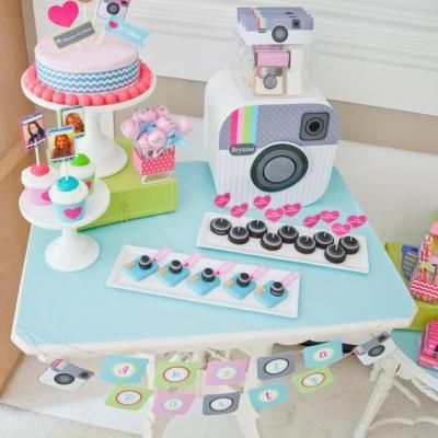 Tween Teen Instagram Party {unique party themes}