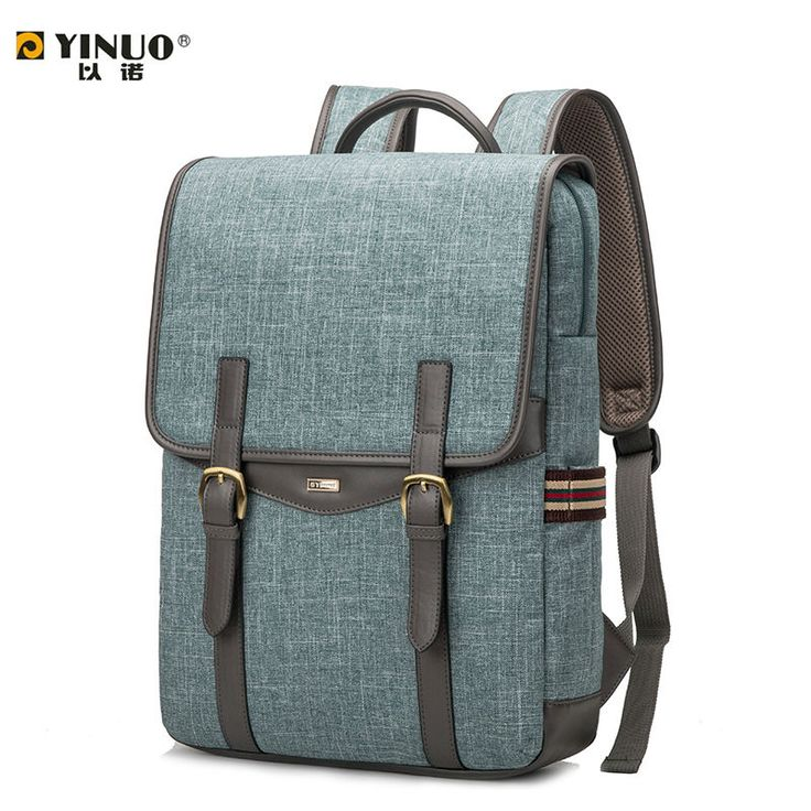 YINUO Laptop Bag 14 Inch 13 Inch Laptop Bag for Women Men   15.6 Inch Laptop Waterproof Shoulder Backpack for Student-in Laptop Bags & Cases from Computer & Office on Aliexpress.com | Alibaba Group