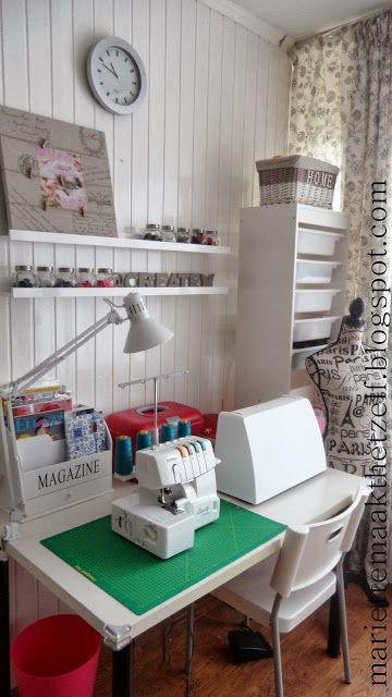 naaihoekje/ sewing space
