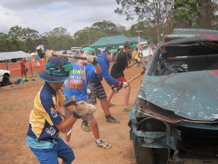 Smashing Cars AJ2013