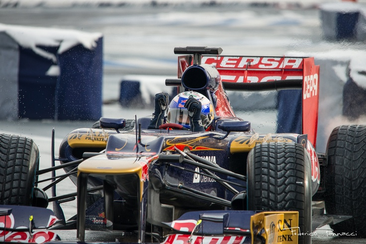 Great Display from Speed Day in Biologna by Ricciardo as Red Bull F1 Pilot