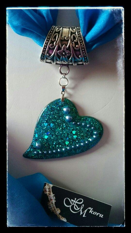 Ice resin -jewellery by HM-koru.