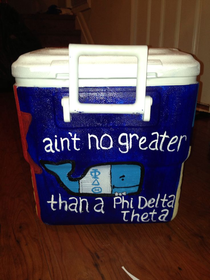 Phi delta theta, cute idea bad craft