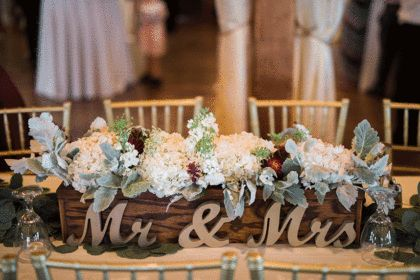 Rustic His And Hers Table | Photography: Josh McCullock Photography | Venue/florist: Southwind Hills | #bridesofok #weddings #oklahomaweddings