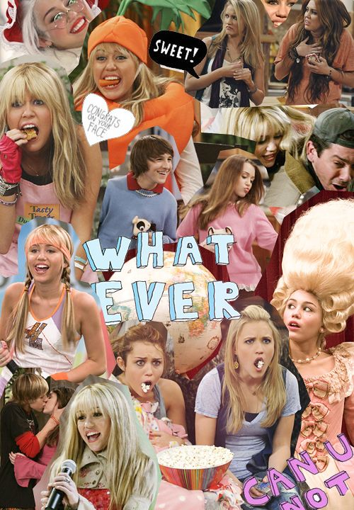 Hannah Montana! I loved that show to be honest I cried when the show ended