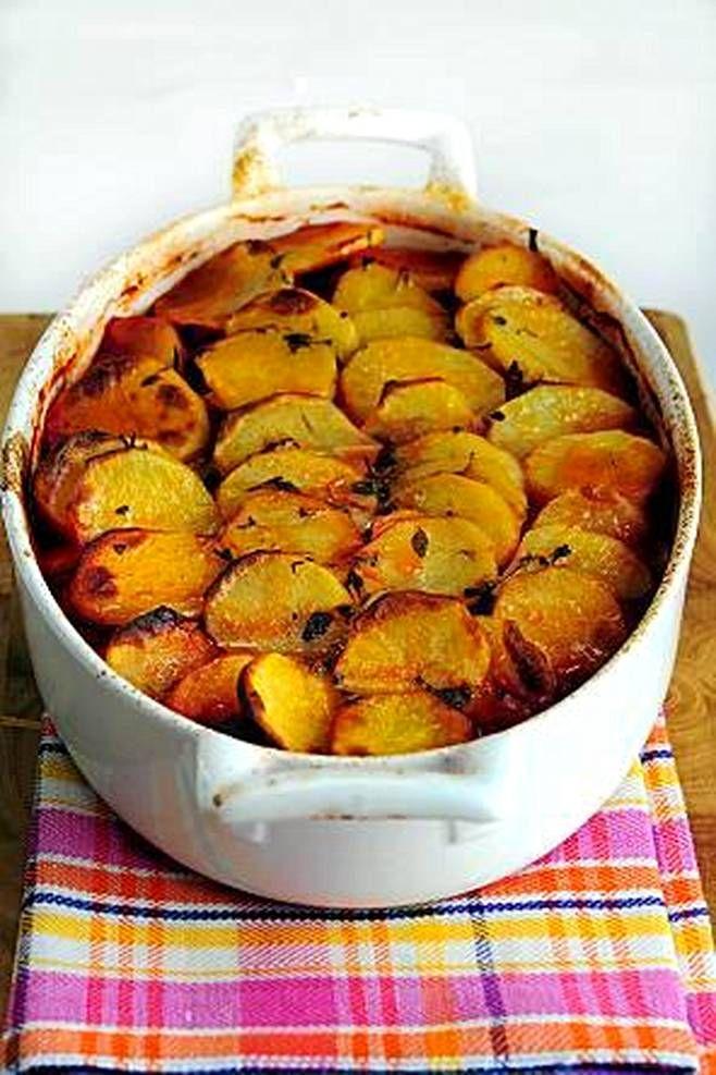 Tutusta perunasta ja makkarasta syntyy uunin uumenissa maistuva paistos.