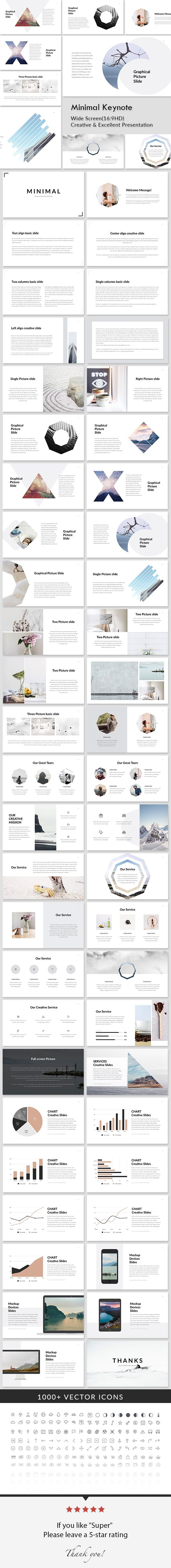 Minimal - Creative Keynote Presentation Template