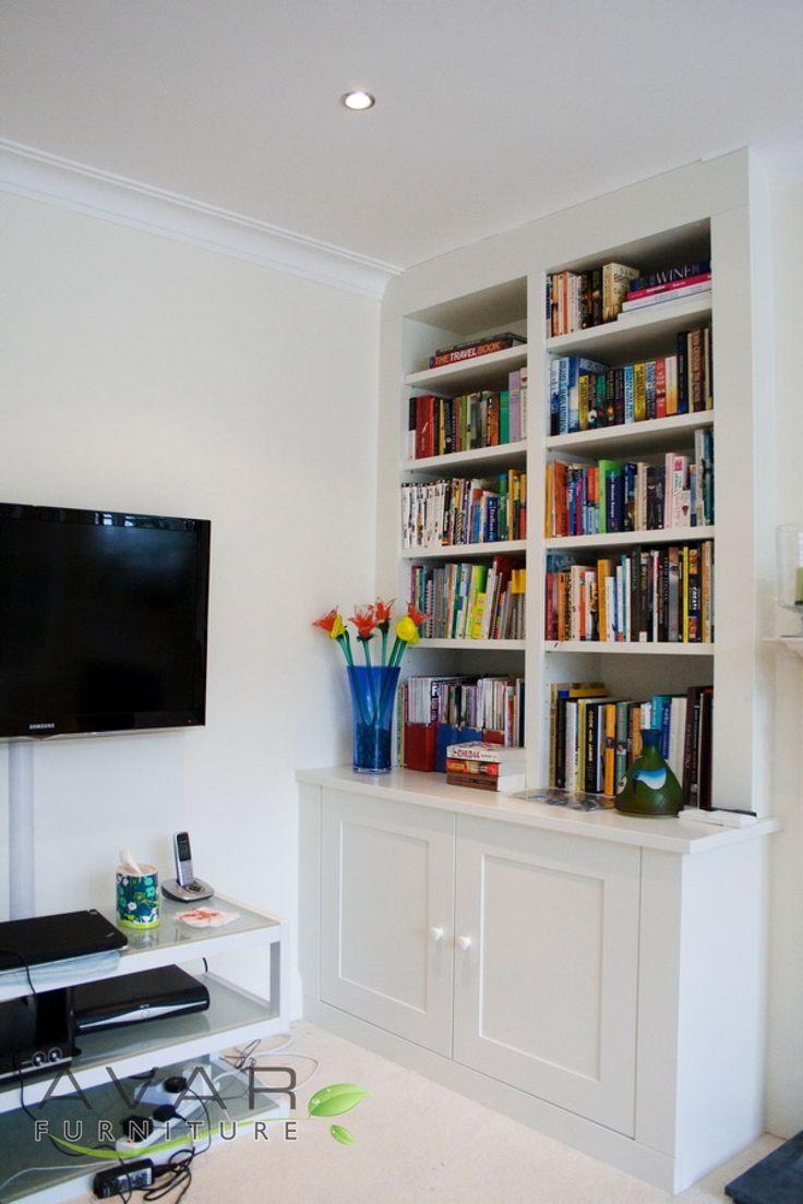 Unique Built In BookcasescupboardsTV  Ideas For Home Improvements  Pinte