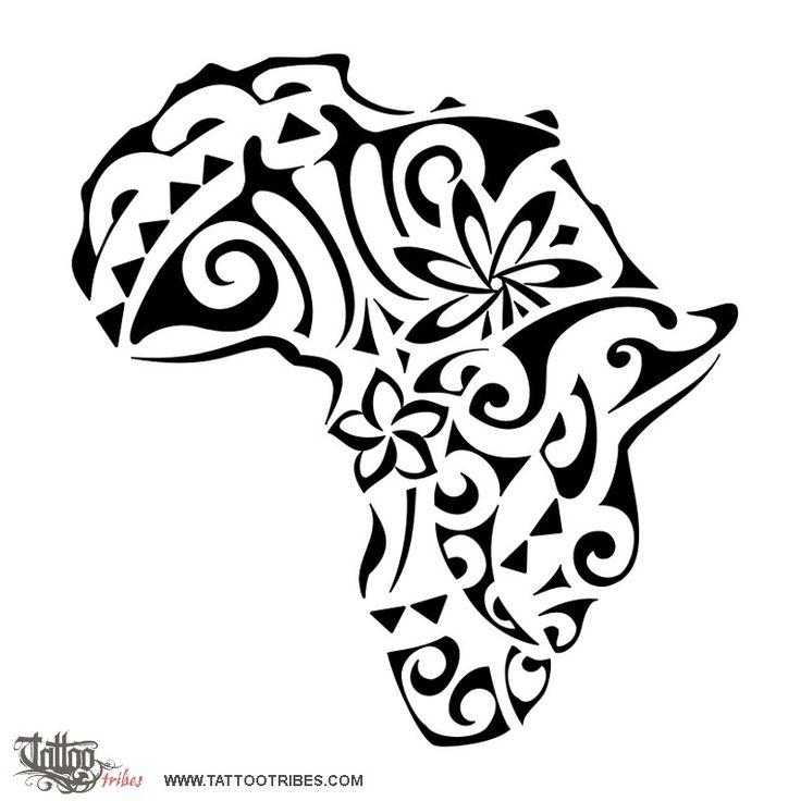 tattoos of Afrifa | Africa Manta Delfinoonde Sole Frangipani Tiare Fiore