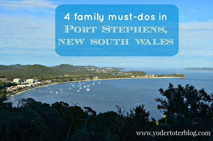 Review of our time in Port Stephens, NSW, plus four things you can and must do with your family!  #Australia