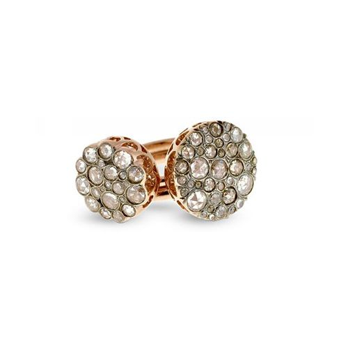 Jewelry: Ring by the designer Selim Mouzannar.