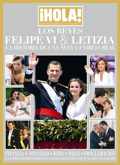 ¡HOLA! lanza el especial 'Los Reyes Felipe VI & Letizia: La historia de una nueva Familia Real' #realeza #royalty