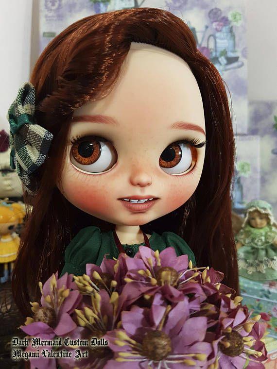 Blythe TBL OOAK cabello Cobre Ayleen by Dark Mermaid