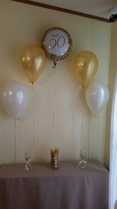 25+ best ideas about 50th Anniversary Decorations on ...