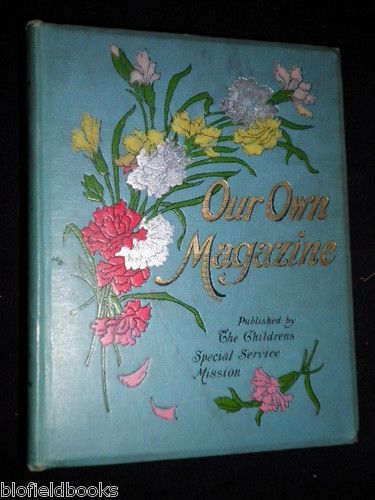 OUR OWN Magazine 1901 Victorian Children'S Christianity Religion Illustrated | eBay