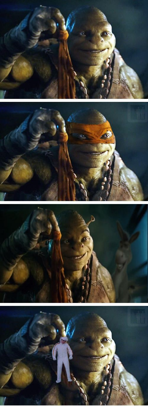 TMNT Movie Trailer Spawns The Michaelangelo Meme