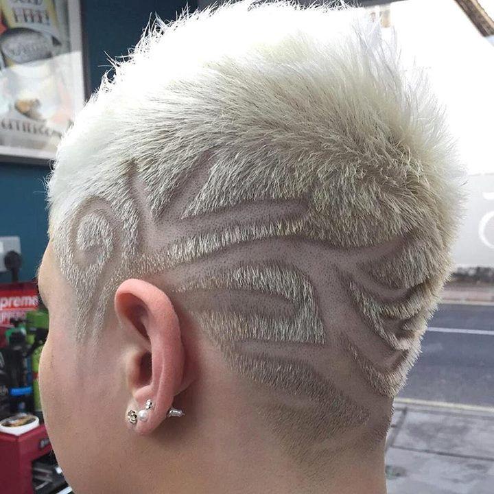 Short Hair Beauty — Too much or just right? http://ift.tt/1Prt21l