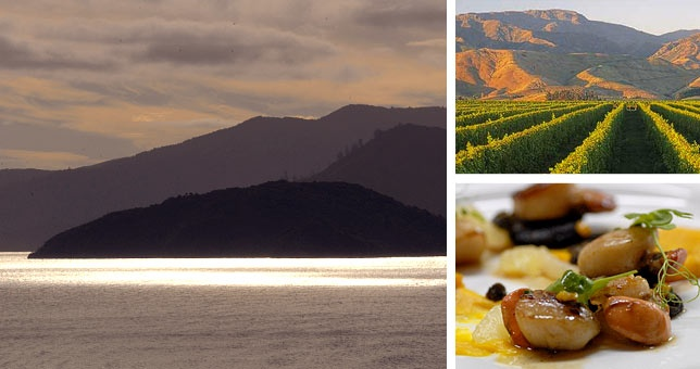 We piece together the best Marlborough has to offer in this 3 night package at the Bay of Many Coves & Marlborough Vintners Hotel. Wine touring, green shell mussel cruising, guided hiking on the Queen Charlotte track and dining on fine cuisine in stunning surrounds.
