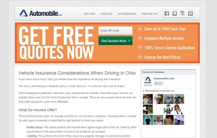 http://www.automobile.com/ohio-car-insurance-guide.html - insurance cost by state Come take a look at our website. https://www.facebook.com/bestfiver/posts/1426531294226508
