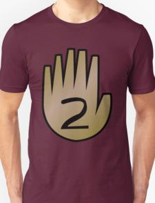 2 Hand Book From Gravity Falls T-Shirt