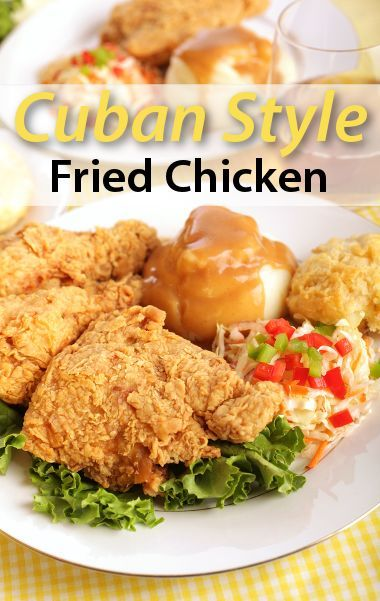 Ana Quincoces did Cuban with her Cuban-style fried chicken recipe.