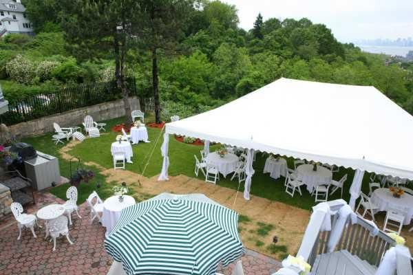 Dyal Backyard Wedding Decorations Setup