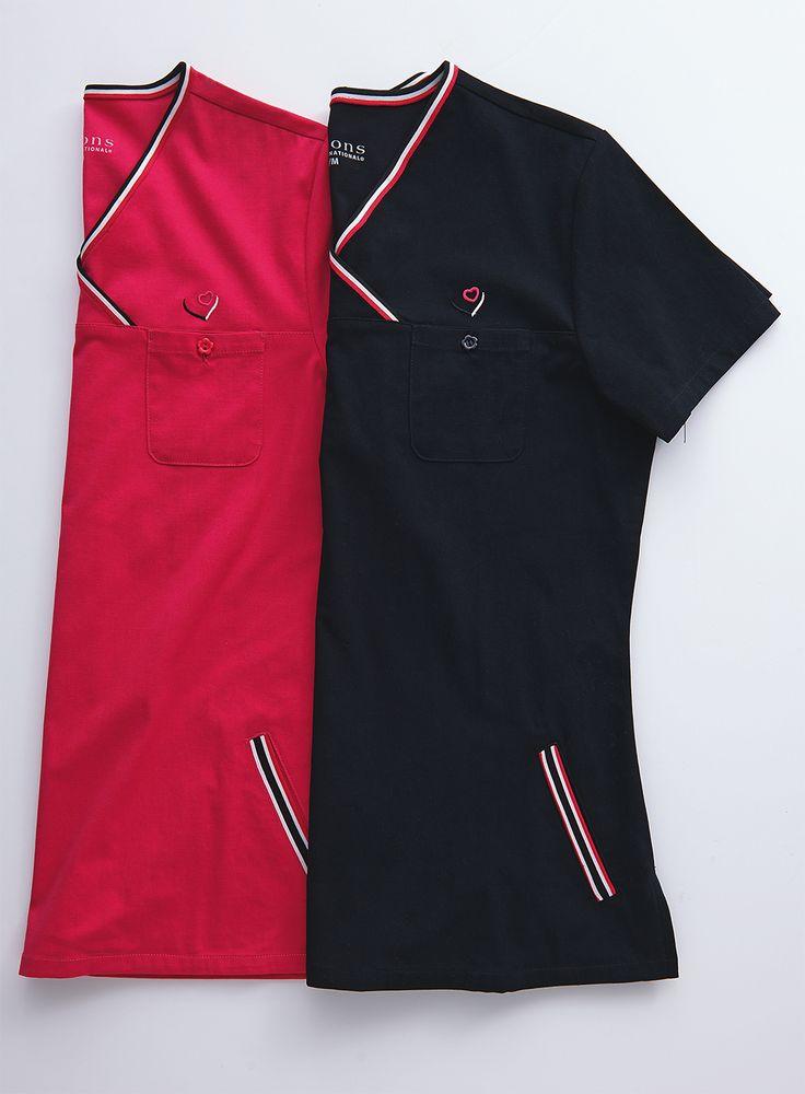 Options Solid Scrub Top / Hauts d'uniforme unis Options #scrubs #uniforms