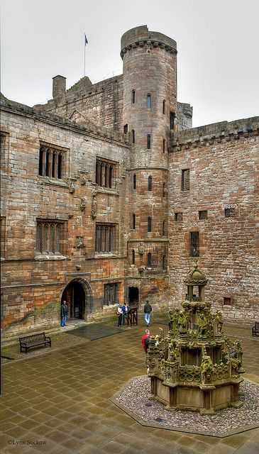 Linlithgow Palace, Scotland - the birthplace of Mary, Queen of Scots.