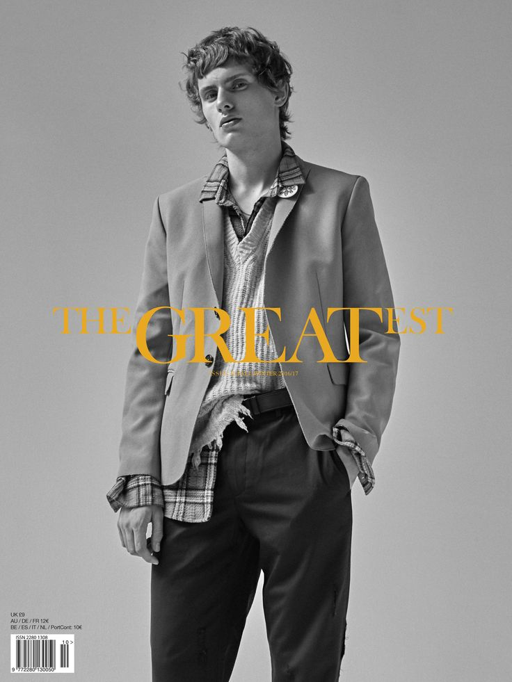 THE GREATEST #10 - THE AWAKENING ISSUE - PHOTO THOMAS GOLDBLUM -FASHION EDITOR BENOIT MARTINENGO -MODEL LEMMIE VAN DEN BERG at SUCCESS - GROOMING CHRIS VOURLIS -TOTAL LOOK #MSGM