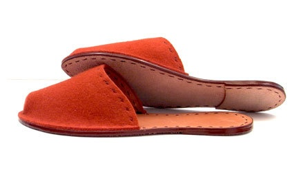 alfred stadler slippers in leather too.