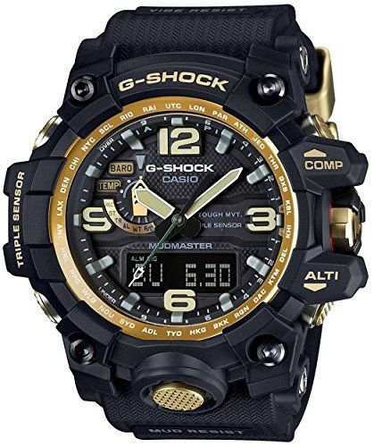 Women's Wrist Watches - GShock Unisex GWG1000GB1ACR Black Watch ** Learn more by visiting the image link.