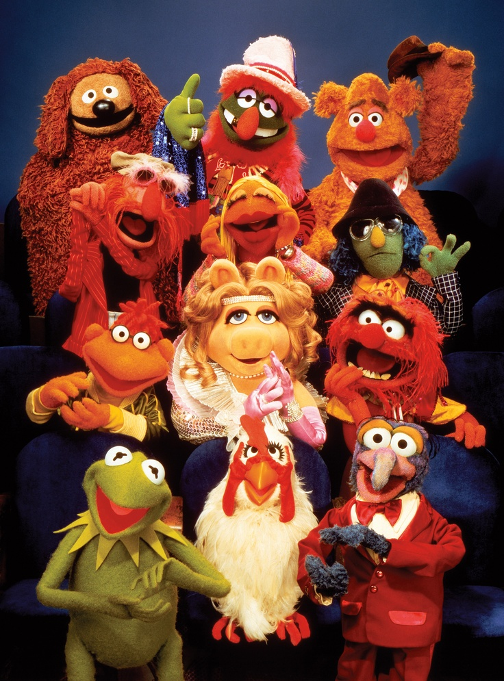 The Muppets. I loved watching this show and went to see the movies when I was a kid. There's something about Kermit, Miss Piggy and all the rest.