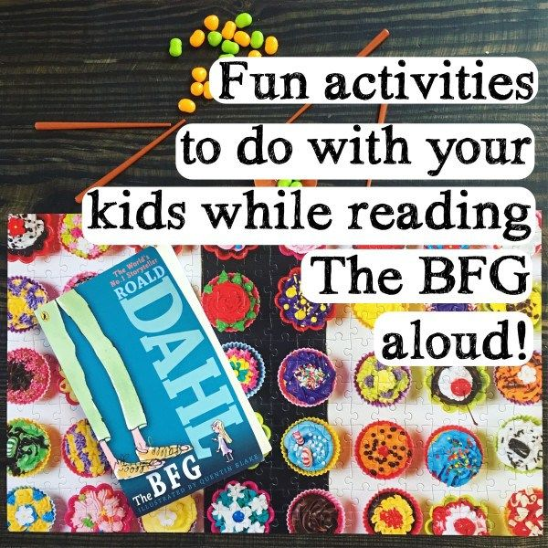 The BFG Read Aloud Activities  Chapters 1 & 2