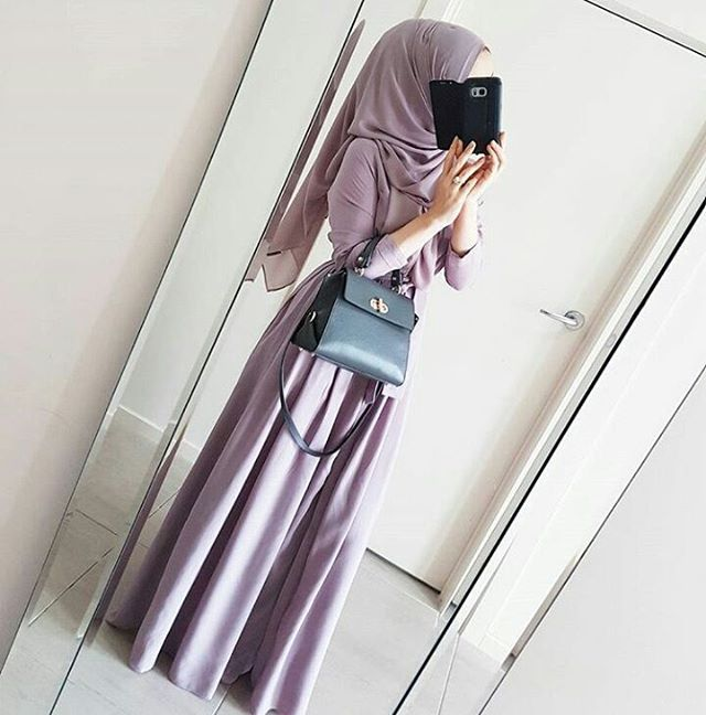 #ootd#simple#chic#elegant#casual#hijab#lovely#purple#dress#stunning#gorgeous#pretty#outfit#hijabstyle#beautiful#muslimah#mashallah#lifestyle#amazing#awsome#sweet#look#hijabfashion#styling#cool#instalike#instafollow#hijabness19#beauty#forever ========> by @hijabrevivalofficial / dress from @hijab_house