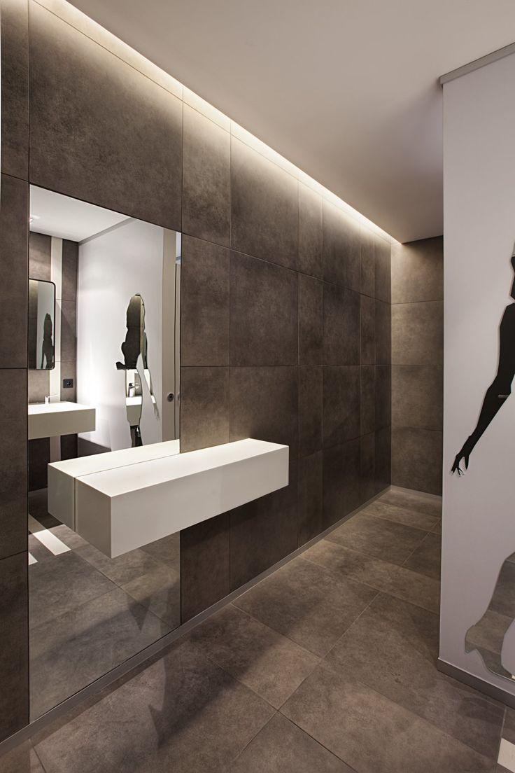 Turkcell Maltepe Plaza by mimaristudio: Bathroom Design, Interior Design, Public Restroom, Idea, Public Bathroom, Public Toilets Design