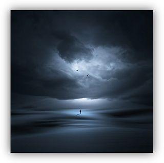 """Arte Digital """"Un Nuevo Amanecer"""" (A New Dawn) de Philip McKay Imagen del blog: La Oración de Job"""
