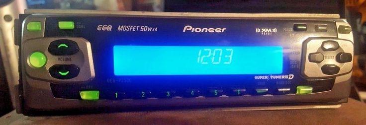 Pioneer DEH-P2500 In Car Stereo Receiver Radio Deck AM FM CD