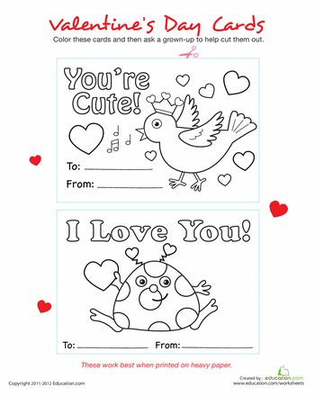 Printable Valentine Cards | Christmas | Cute valentines day cards ...